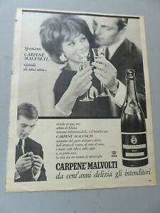 Advertising On Pag. Original Years 50/60 Advertising Vintage Cannon' Malvolti
