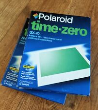 2 X Packs of Extremely Rare Polaroid TIME ZERO SX70 Instant Film