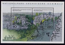 WEST GERMANY MNH STAMP SHEET DEUTSCHE BUNDESPOST NATIONAL PARK 1998 SG MS2860