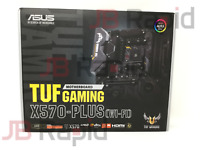 ASUS X570 TUF Gaming Plus (WI-FI) AMD AM4 ATX Motherboard Ryzen 3000 Ready