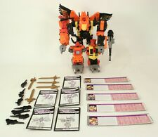 Transformers G1  Predaking Rampage Divebomb Tantrum Razor Claw Head Strong