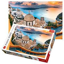 Trefl 1000 Piece Adult Large Fairytale Santorini Aegean Sea Island Jigsaw Puzzle