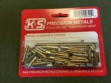 K&S Assortment Brass Copper Rod & Tube Tubing Hobby Sizes Shapes Small 320