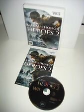 WII : MEDAL OF HONOR : HEROES 2 - Completo, ITA ! Compatibile con Wii U