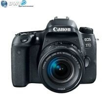 NUEVO CANON EOS 77D CAMARA DIGITAL SLR + EF-S 18-55MM F/4-5.6 IS STM OBJETIVO