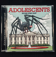 ADOLESCENTS - Russian Spider Dump CD So. Cal. Punk Rock Fuck You Lion's Share