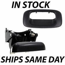 NEW Rear Tailgate Handle Bezel Set 1999-2006 Chevy Silverado GMC Sierra Truck