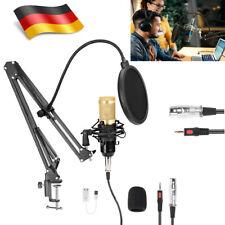 BM 800 Pro Kondensator microphone Mikrofon Kit Komplett Set für Studio Aufnahme