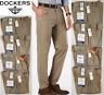 Dockers Mens Signature Khaki Slim Fit Flat Front Stretch Pants Timber Wolf 60013