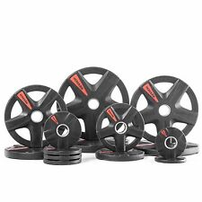 XMark's TEXAS STAR 255 lb. Select Rubber Coated Olympic set XM-3389-BAL-255
