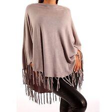 Feine Ärmellose Damen-Pullover & Strickware mit Viskose ohne Muster