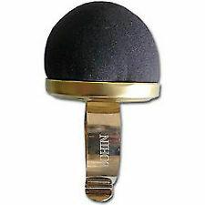 BOHIN Wrist Pincushion Black Velvet Machine Washable 3 Inch Round