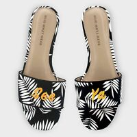 Target - Who What Wear Women's Sloane Palm Slide See Ya Sandals 096-05-7569 NWT