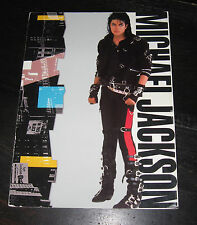 Michael Jackson BAD World Tour 1988 program book PEPSI photos