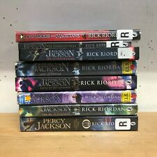 Percy Jackson and the Olympians (Rick Riordan): 5 children's books + 3 specials