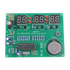 DIY 6 Digital LED Electronic Clock Kit 9V-12V AT89C2051