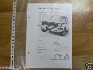 DA11-DAF  66 MARATHON ,COACH, COUPE, STATIONCAR  1973 E