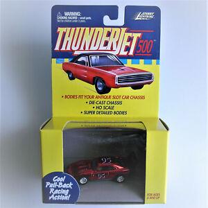 JOHNNY LIGHTNING, 69 Dodge Daytona, Thunderjet 500 HO Slot Car Body Screw On