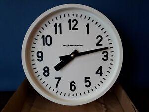 Soviet Clock ARROW STRELA . USSR electric wall controllable Watch. #A