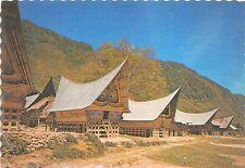 BR4881 Rumah Adat Batak Pulau Samosir Toba Lake  indonesia