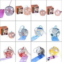 HOT Japanese Handmade Wind Chimes Hanging CI Door Decoration Ornament Glass