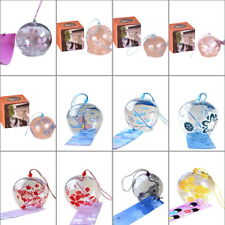 HOT Japanese Handmade Wind Chimes Hanging Glass  Ornament Decoration Door CI