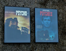 "HITCHCOCK ""PSYCHO"" & ""PSYCHO II"" DVD LOT BRAND NEW"