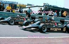 Ronnie Peterson JPS Lotus 79 español Grand Prix 1978 fotografía 3