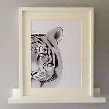 Tigre Original impresión de arte de la Ilustración. tamaño.A3. edición limitada firmada