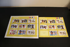Baseball All-Stars Postage Stamp Sheets - Grenada (with Pete Rose ERROR STAMP!)