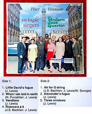 LP Swingle Singers & Modern Jazz Quartet: Place Vendome (Philips 824 545-1) NL