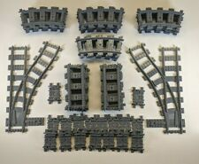 Lego Train Track Lot RC or Electric 10 Straight 20 Curved Switching Left & Right