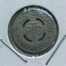 Muskegon Michigan MI Peoples Transport Transportation Token