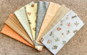 Henry Glass Patchwork Fabric About a Boy/Girl by Anni Downs Fat 1/8 pack