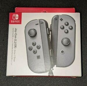 ✅ Joy-Con (L/R Pair) - Gray (Nintendo Switch, Brand New)