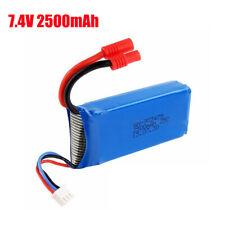 Banano enchufe 2500mAh 7.4V Batería Lipo Para Syma X8 X8C X8SW RC Drone Toys