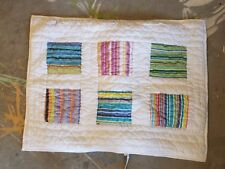 """Crate & Barrel """"Windham"""" Quilted Standard Pillow Sham"""