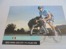 wielerkaart 2012 team quick step  dario cataldo