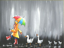 OIL Acrylic Painting on CANVAS Original CONTEMPORARY Art by PETE RUMNEY
