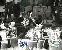 Terry O'Reilly Boston Bruins Autographed Signed 8x10 Photo coa FTA -2