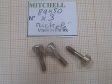 3 VIS PORTE BOBINE FULL CONTROL 400 & autres MOULINETS MITCHELL SCREW PART 89950