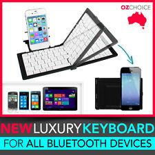 Foldable Wireless Bluetooth Pocket Keyboard iPad iPhone Samsung Galaxy Tablet