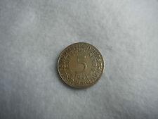Monnaie 5 Deutsche Mark en Argent massif 1951 G