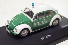 VW Käfer 1200 Polizei grün-weiß 1:43 Schuco neu & OVP 3862