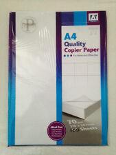90 Fogli Carta STAMPA COPIA A4 70gsm white-for a getto d'inchiostro / laser / FAX / photocopie