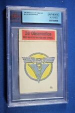 1965 Topps Battle Cards - Cloth Emblem #23 - 3rd. Observation - BVG Authentic