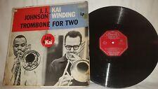 J.J. JOHNSON & KAI WINDING - TROMBONE FOR TWO -CORONET RECORDS AUSTRALIAN PRESS