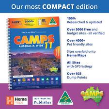 Camps 11 Australia Wide A4 Camping Hiking 4x4 Spiral Map Book