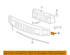 Hummer GM OEM 06-10 H3-Grille Assembly Clip 11561829