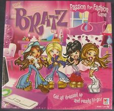Bratz, Passion for Fashion Board Game by Milton Bradley 2002 Factory Sealed